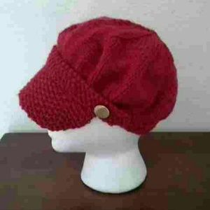 New Hand Knitted Women's Cap Hat